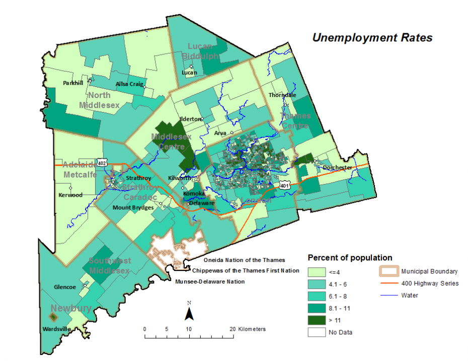 Figure 2.2.3: Unemployment rate