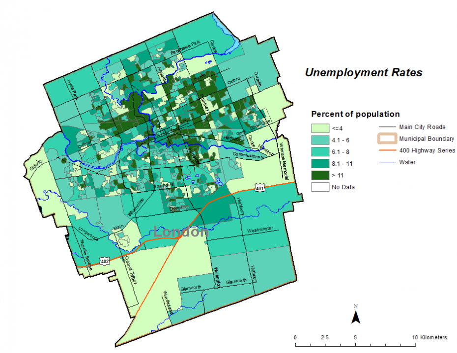 Figure 2.2.4: Unemployment rate