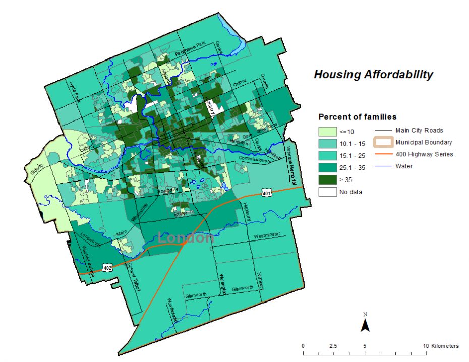 Figure 2.4.3: Housing affordability